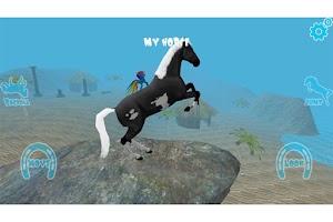 Screenshot of Hill Cliff Horse OnlineRagdoll