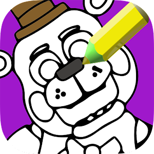 Indie Freddy Bear coloring book For PC