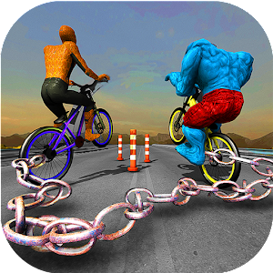 Download Chained Bicycle: Spider boy VS Monster super hero For PC Windows and Mac