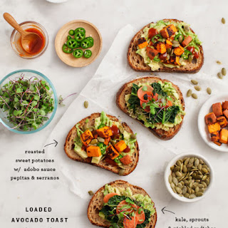 Loaded Sweet Potato Avocado Toast