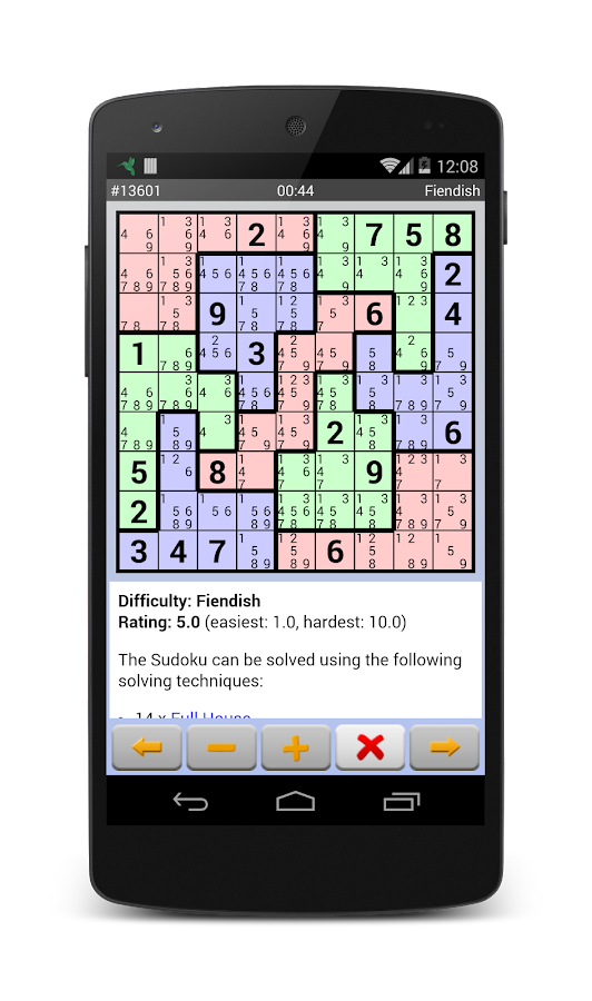 Sudoku 10'000 Plus Screenshot 5