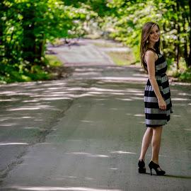 Senior Day by Melissa Culp - People Street & Candids ( dirtroad, seniorday, vermont, cheyenne, senior )