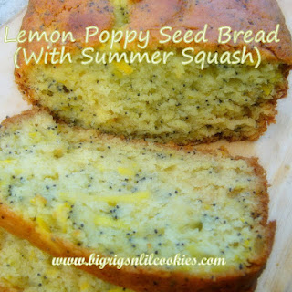 Lemon Poppy Seed Bread (with Summer Squash)