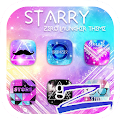 Free Download Starry Theme - ZERO Launcher APK for Blackberry