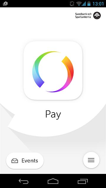 Swish payments screenshots