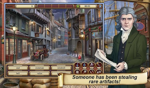 17 Hidden Object Time Crimes Case App screenshot