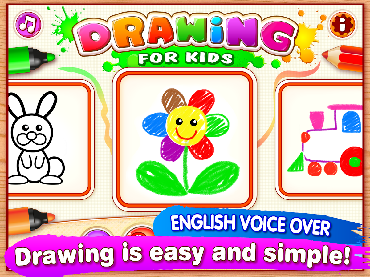 Drawing for Kids and Toddlers. Screenshot 5