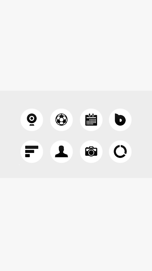 ET Apex/Nova/Adw Circle Icons Screenshot 1