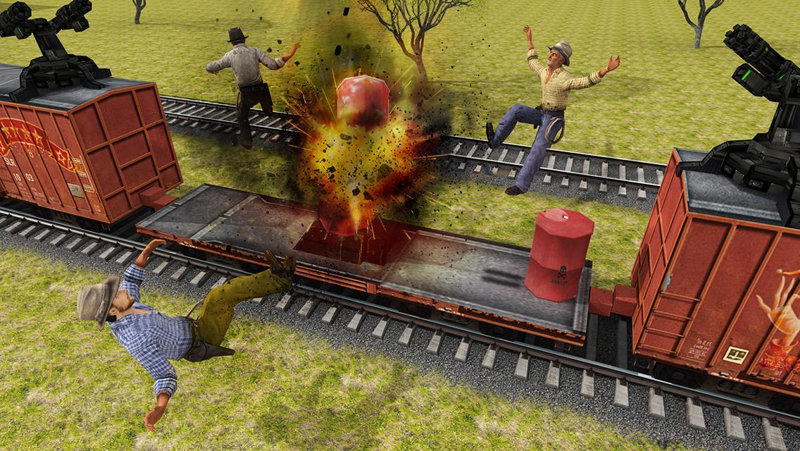 Furious Train Sniper 2016 Screenshot 13