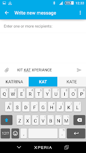 Kit Kat Xperien Theme Screenshot