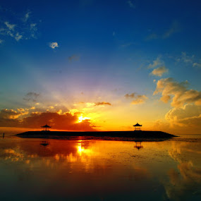 Morning Glory by Alit  Apriyana - Landscapes Sunsets & Sunrises