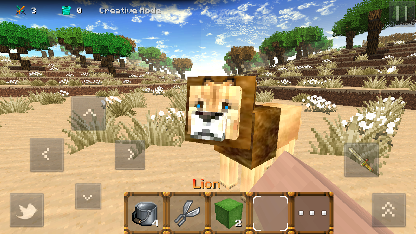 Savanna Craft – Screenshot
