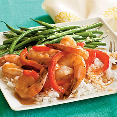 Thai Red Curry With Shrimp And Tofu Recipe — Dishmaps