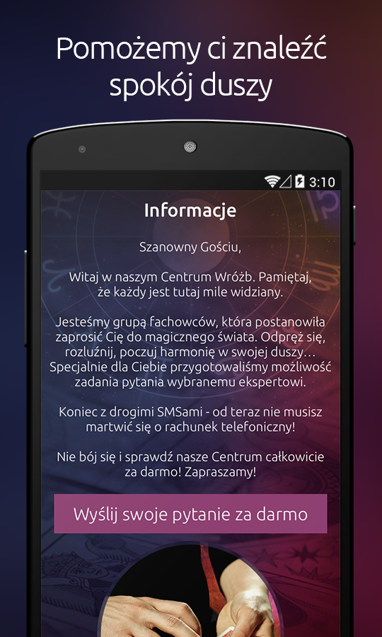 Centrum Wróżb Screenshot 0