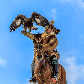Eagle Festival 2016. Mongolia by Boldbaatar Tsend - People Portraits of Men