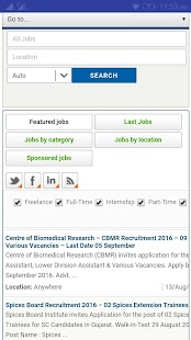 Indian Rojgar Job Search - screenshot