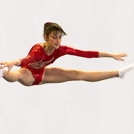 Gymnast (Aims Games 2016) by Trevor Bond - Sports & Fitness Other Sports ( aims games, girl, nz, gymnast )