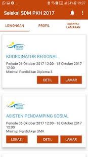 App SELEKSI SDM PKH 2017 apk for kindle fire
