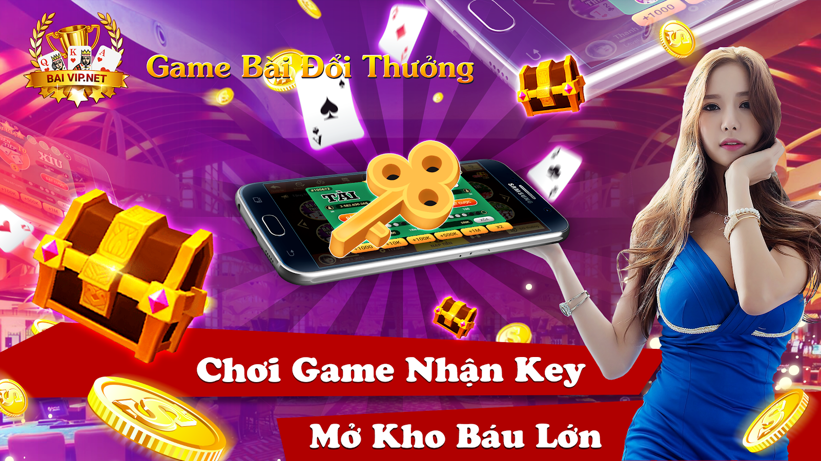 Game Bài Vip Online Screenshot 10