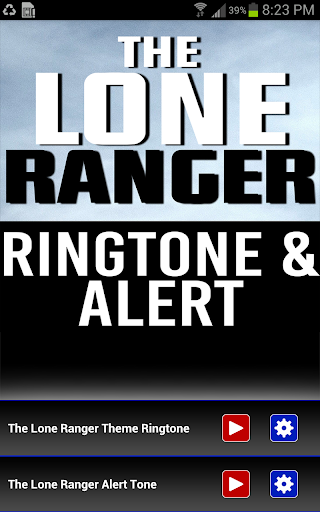 The Lone Ranger Ringtone - screenshot