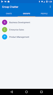 Group Chatter for Salesforce - screenshot