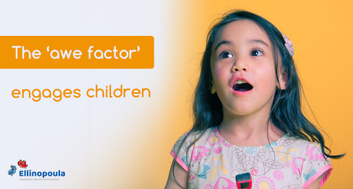 The awe factor engages children at Ellinopoula.com