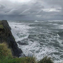 Oregon coast  by D.j. Nichols - Instagram & Mobile Android ( pacific ocean, oregon coast )