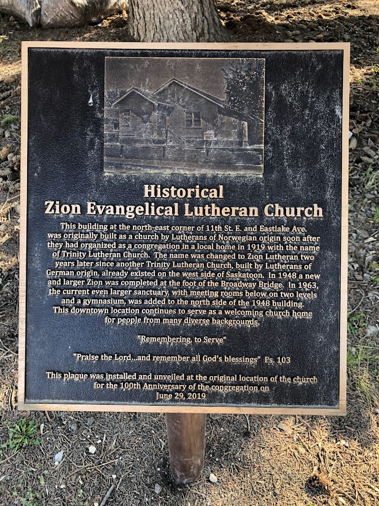Historical Zion Evangelical Lutheran Church This building at the north-east corner of 11th St E and Eastlake Ave. was originally built as a church by Lutherans of Norwegian origin soon after they had ...