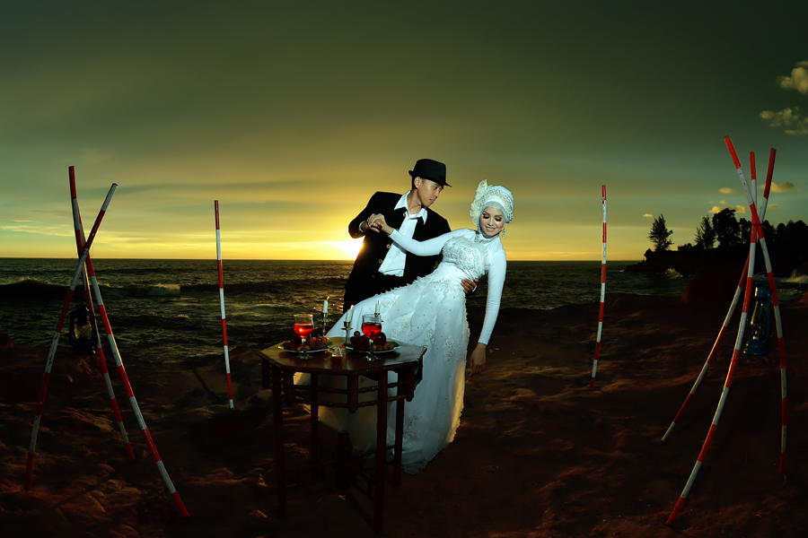 by Sandi Nopri yanto - Wedding Bride & Groom
