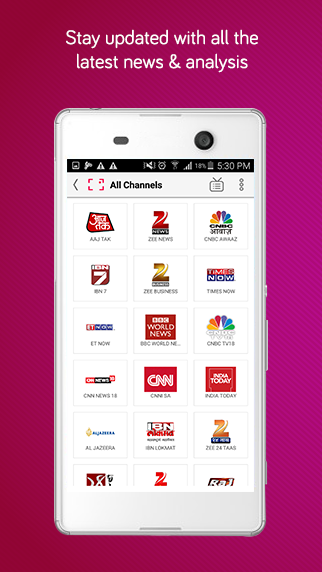 dittoTV: Live TV shows channel Screenshot 3