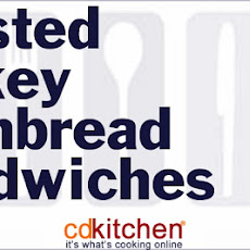 Roasted Turkey Cornbread Sandwiches