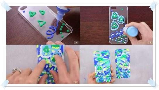 Как разрисовать свой телефон
