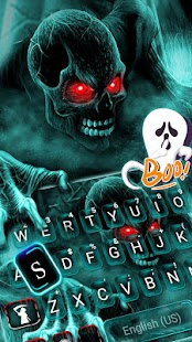 Zombie Skull Keyboard for pc