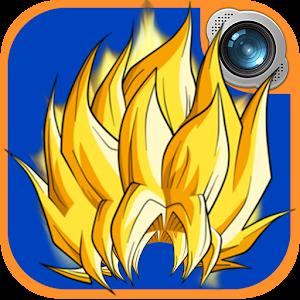 Super saiya camera hair studio android apps on google play for Super studio