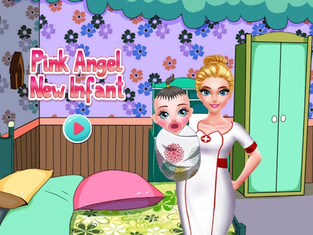 android Pink Angel New Infant Screenshot 5