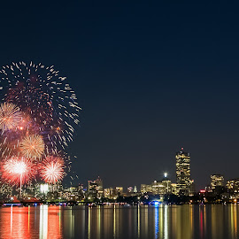 by Cary Chu - Abstract Fire & Fireworks (  )
