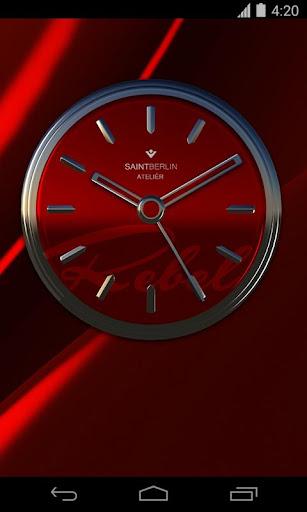 Rebel Clock Widget - screenshot
