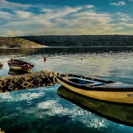 two boats  by Eseker RI - Transportation Boats (  )