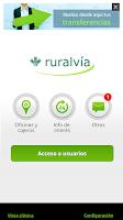 Screenshot of ruralvía
