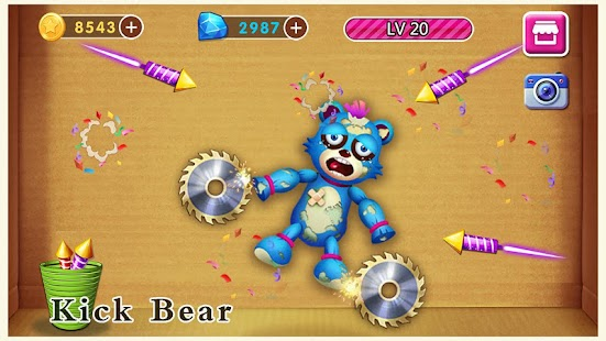 Beat Angry Bear - Funny Challenge Game