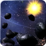 Asteroid Belt Live Wallpaper Icon