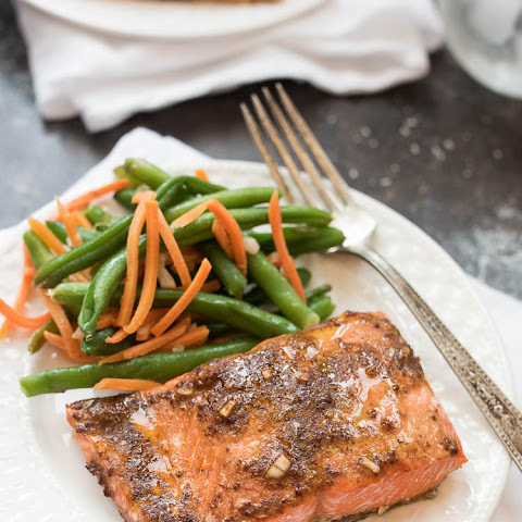 Easy Dijon Salmon