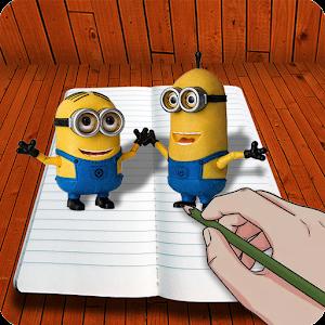 how to draw 3d cartoons