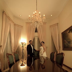 PORTRAIT REFLECTIONS by Yoeyoed . - Wedding Bride & Groom (  )