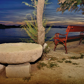 Romantic view by Vedran Vanjak - City,  Street & Park  Street Scenes ( sukošan, croatia, adriatic sea, romantic view, hrvatska )