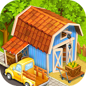 Download Farm Town:Happy City Day Story APK to PC