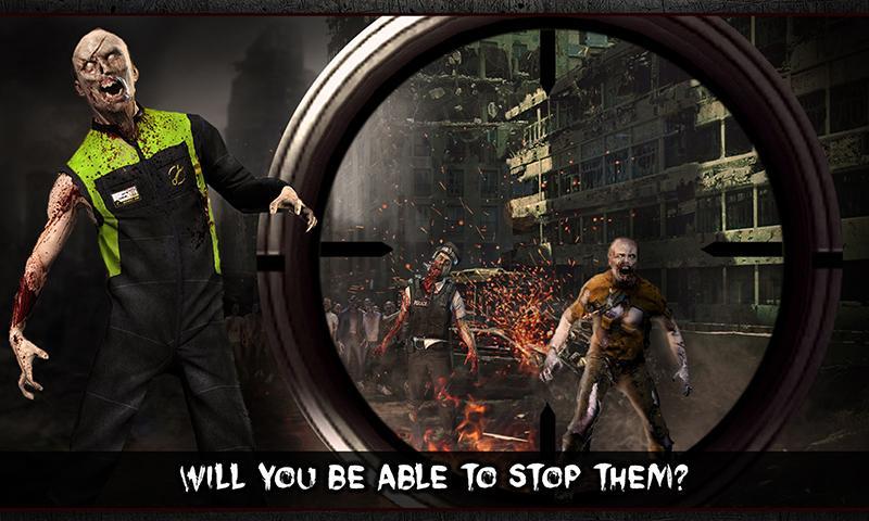 Held Scharfschütze - Tote Zombie War Shooter android spiele download