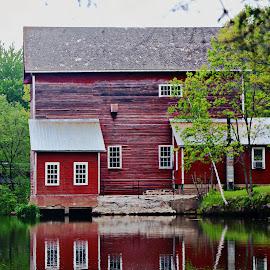 dells mill by Jon Radtke - City,  Street & Park  Vistas ( dells mill )