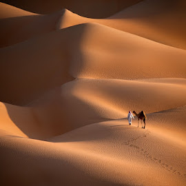 In the way by Adeeb Alani - Landscapes Deserts ( dramatic landscapes, staff favorites )