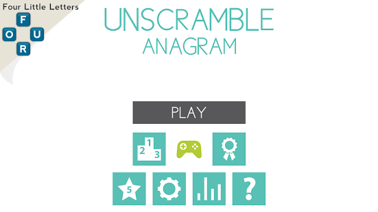 Game unscramble anagram twist it apk for windows phone for Window unscramble